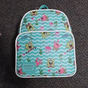 Nickelodeon SpongeBob Loungefly mini backpack